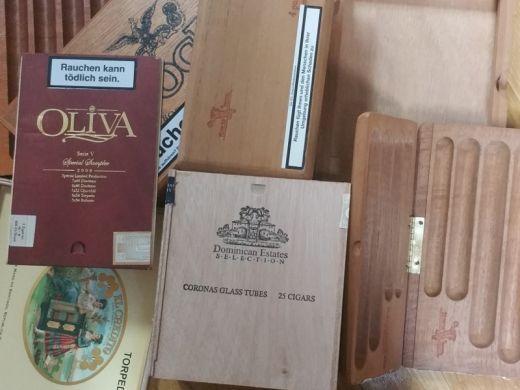 Upcycling Holzring aus echten Zigarrenkisten Breite ca.: 14 mm versiegelt