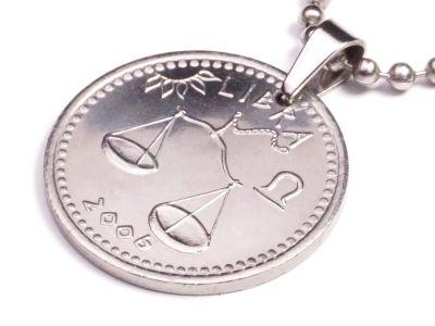 Anhänger Sternzeichen Waage Münze 10 Schilling Somaliland Ø 25 mm