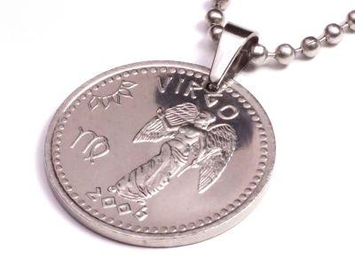 Anhänger Sternzeichen Jungfrau Widder Münze 10 Schilling Somaliland Ø 25 mm