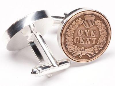 Manschettenknöpfe One Cent USA Staatssiegel Ø 22mm